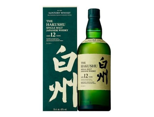 Suntory Hakushu Reserve Single Malt 12 Year whisky