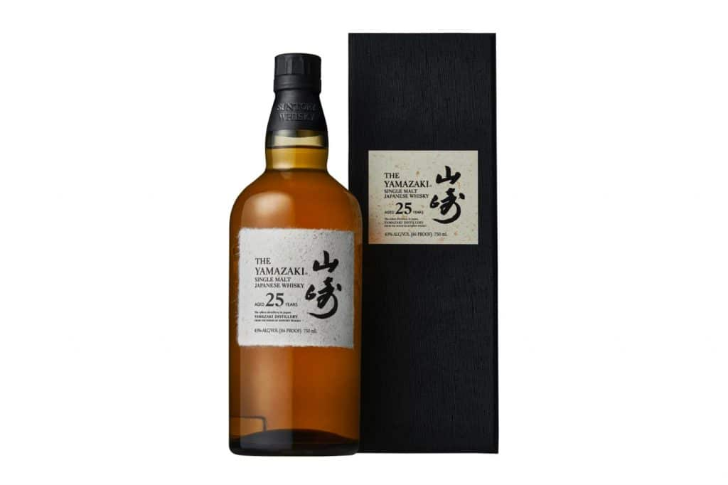 Suntory Yamazaki 25 whisky met nieuwe receptuur