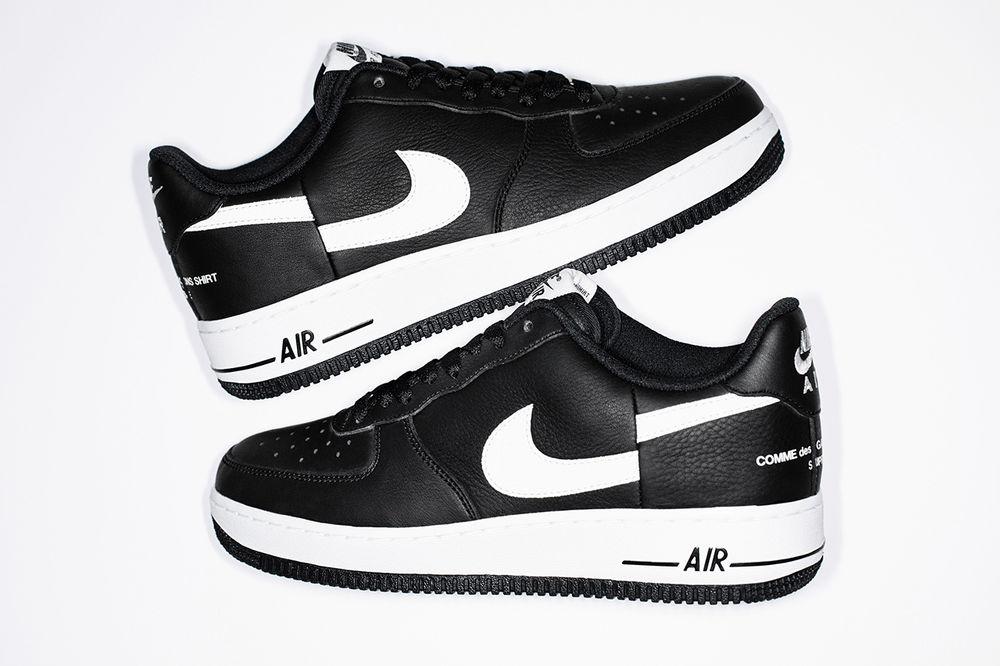 Supreme x COMME des GARÇONS Shirt x Nike Air Force 1 Split Swoosh