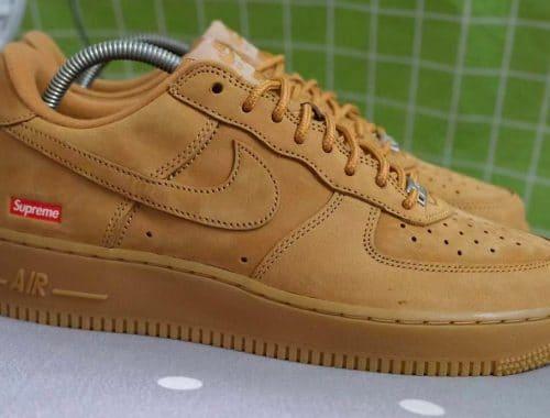 "Supreme x Nike Air Force 1 Low ""Wheat"""