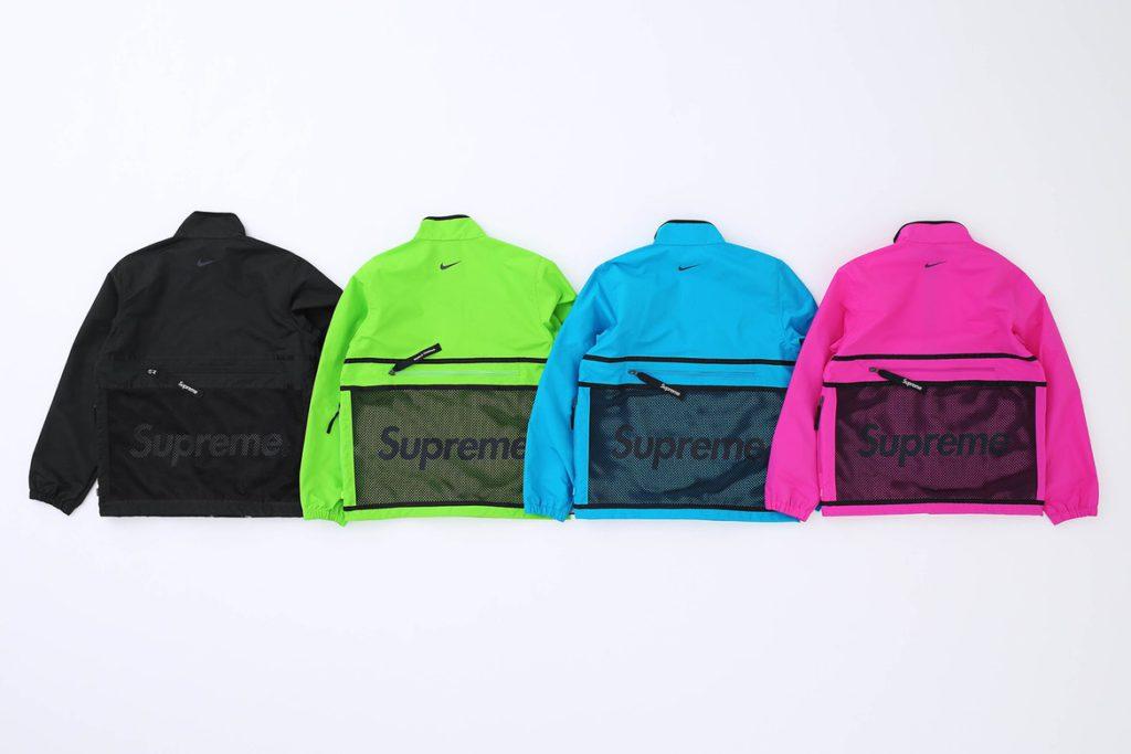 Supreme x Nike 2017 collectie prijslijst