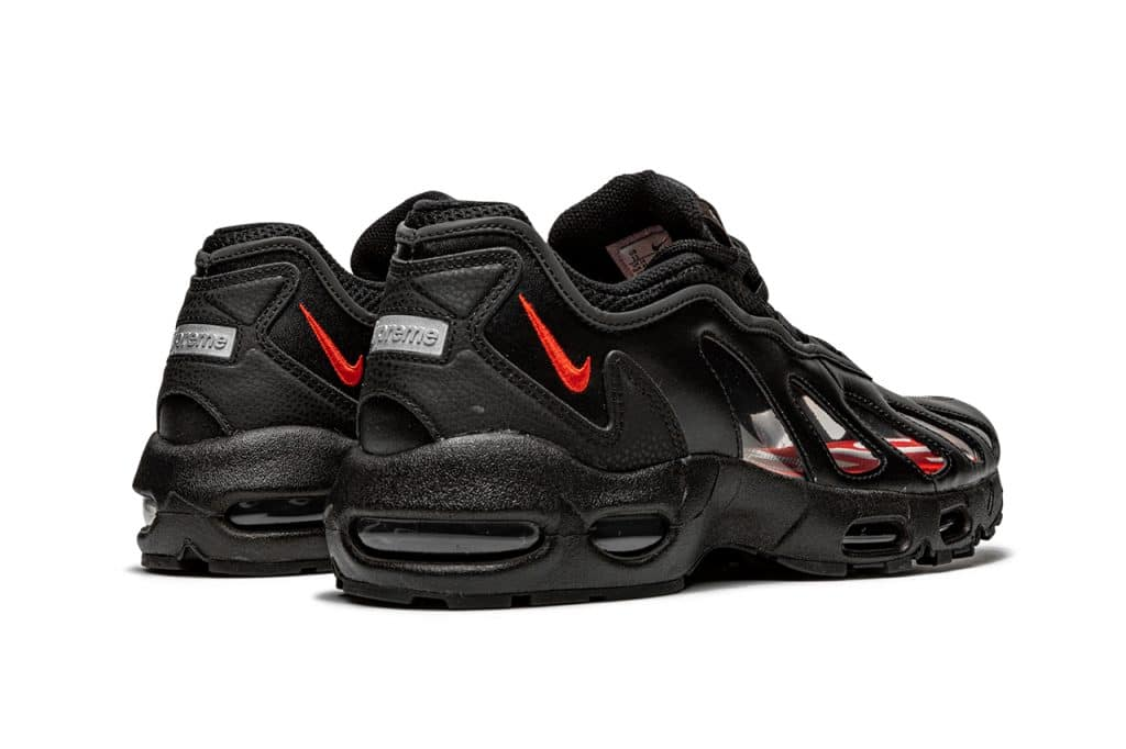 "Supreme x Nike Air Max 96 ""Black"""