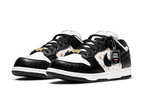 Supreme x Nike SB Dunk Low Black