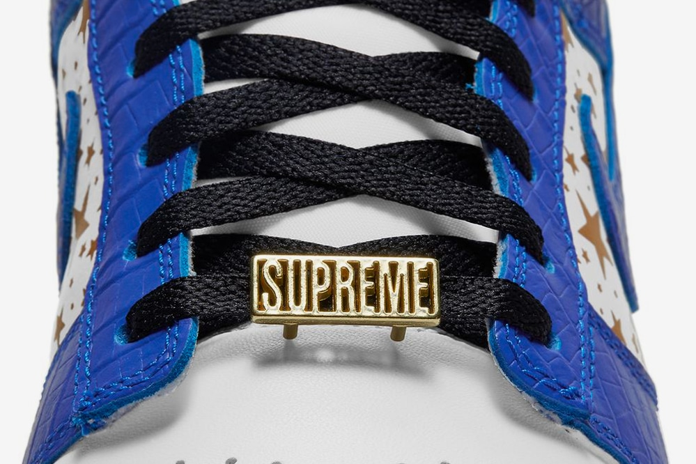 Supreme x Nike SB Dunk Low Hyper Blue
