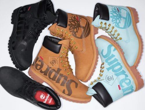 Supreme x Timberland Fall/Winter 2020 boots
