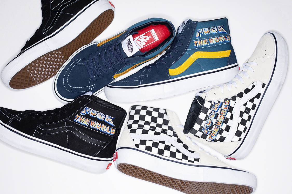Supreme x Vans Fall/Winter 2019