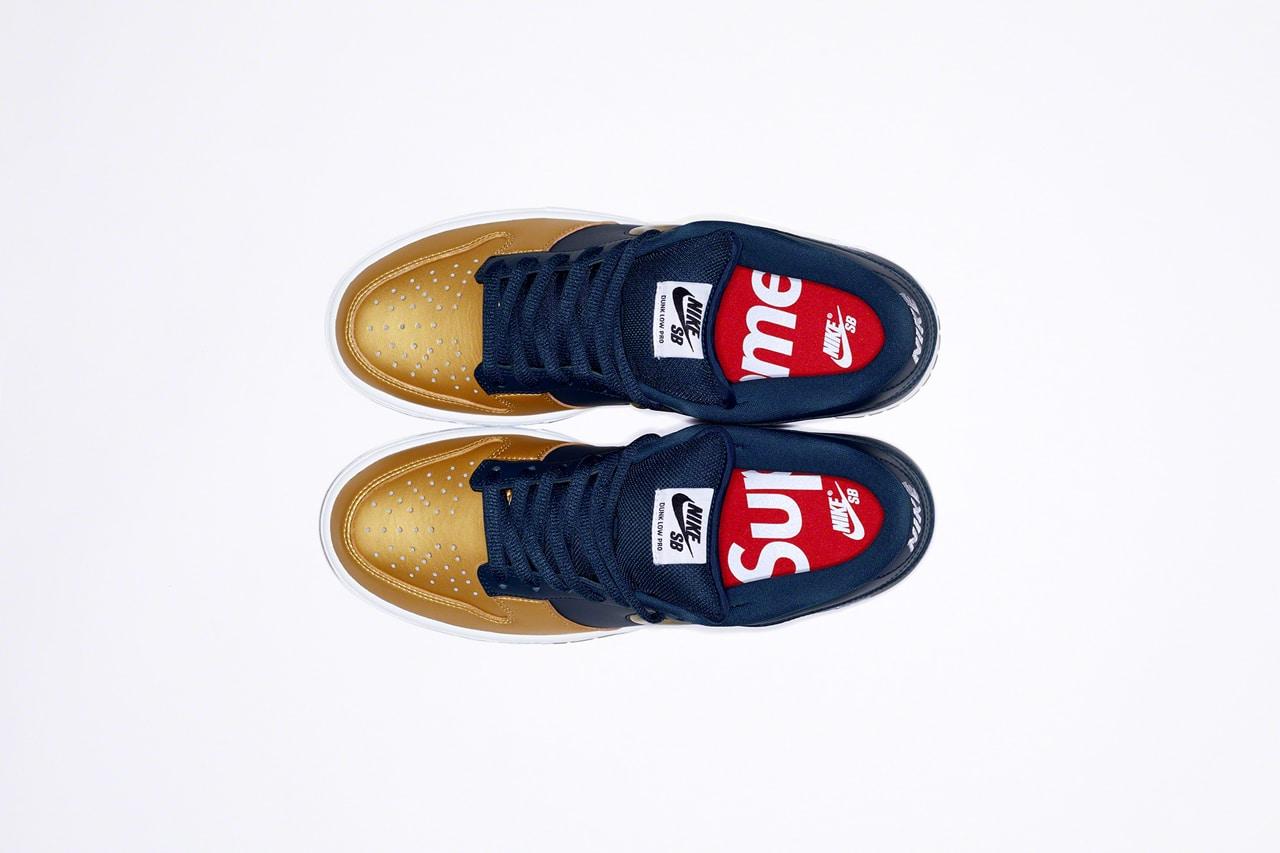 2019 Supreme x Nike SB Dunk Low