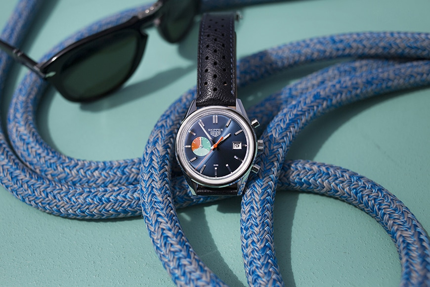 Tag Heuer Carrera Skipper Chronograph limited edition