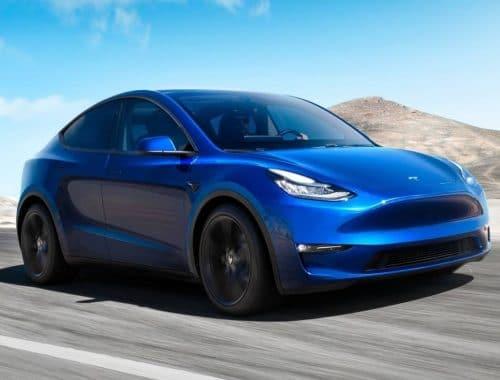 Tesla Model Y met zeven zitplaatsen
