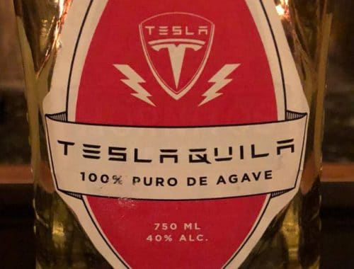 Teslaquila Elon Musk tequila