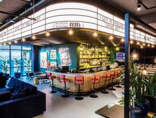 The Commons Amsterdam Bar restaurant
