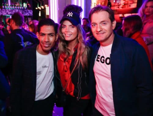 The Internet Launch Party De Bajes Amsterdam - Giovanni Laisina & Eric Franzel