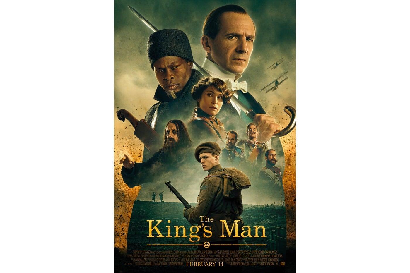 the kings man trailer