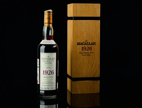 1926 The Macallan Fine and Rare 60-Year-Old duurste fles ooit geveild