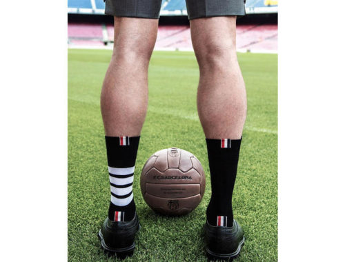 Thom Browne kleedt FC Barcelona