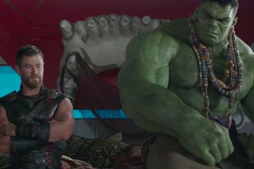 Thor: Ragnarok trailer comic con