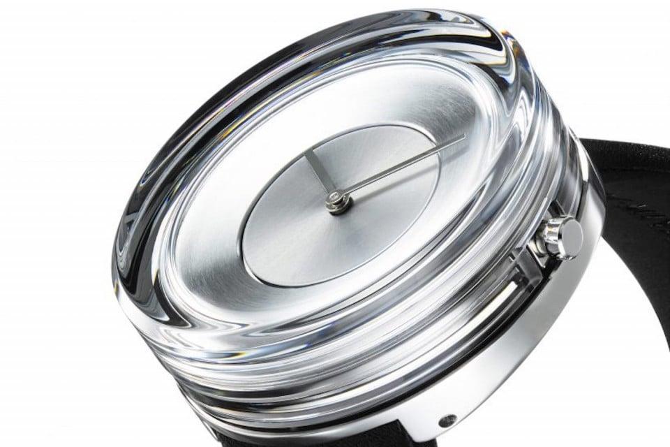 Issey Miyake x Tokujin Yoshioka Glass Watch horloge