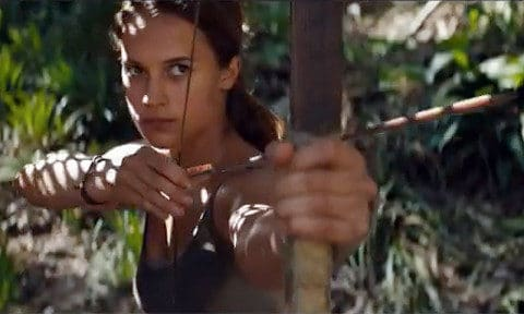 Tomb Raider trailer Alicia Vikander