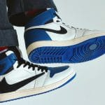 "Travis Scott x fragment x Air Jordan 1 High OG ""Military Blue"""