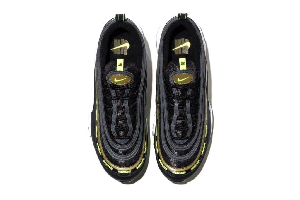 UNDEFEATED X Nike Air Max 97 Black/Volt