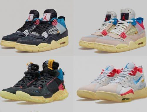Union x Jordan Brand 2020 sneakers