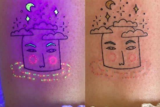 UV tattoos - tattoo trend - tukoi oya