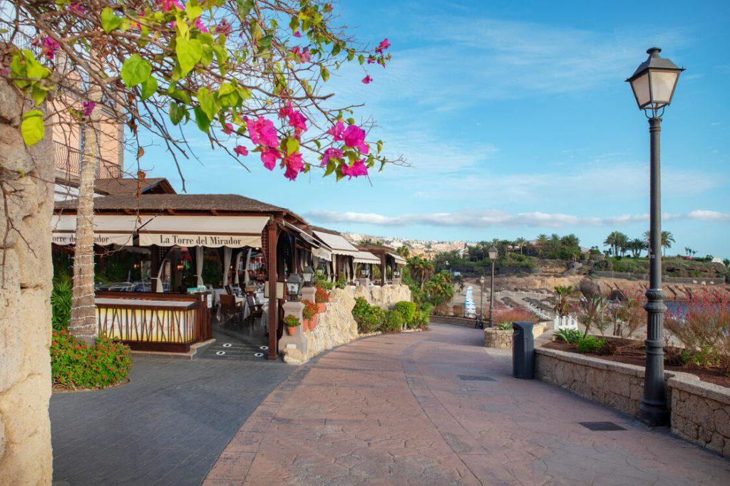 vakantie vijf restaurants met uitzicht op zee op Tenerife - la torre del mirador