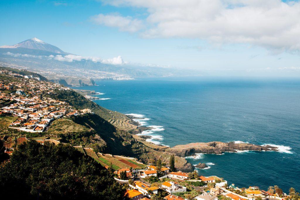 vakantie vijf restaurants met uitzicht op zee op Tenerife terazzas del sauzal