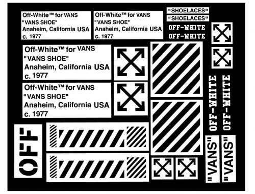 Off-White x Vans Black Ball HI