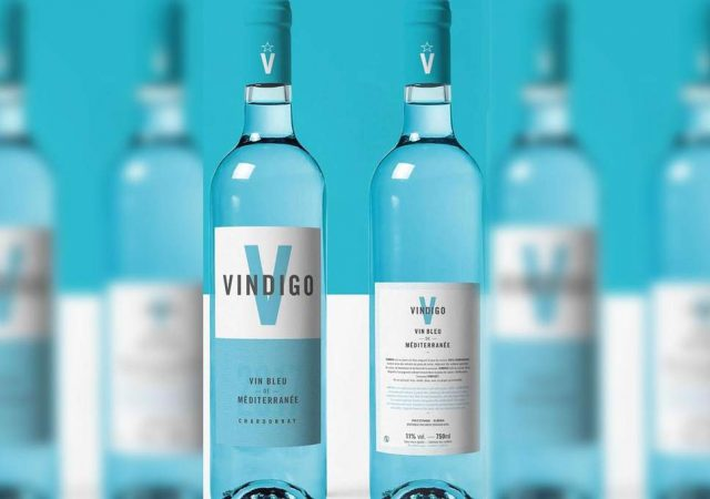 Vindigo blauwe wijn