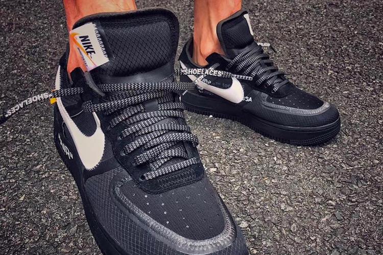 Off-White x Nike Air Force 1 Black