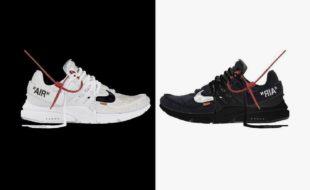 Virgil Abloh x Nike Air Presto sneakers
