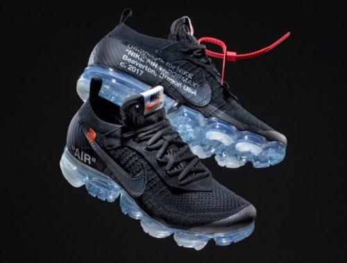 Virgil Abloh x Nike Air VaporMax Black