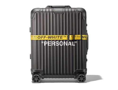 "Off-White x RIMOWA ""PERSONAL BELONGINGS"""