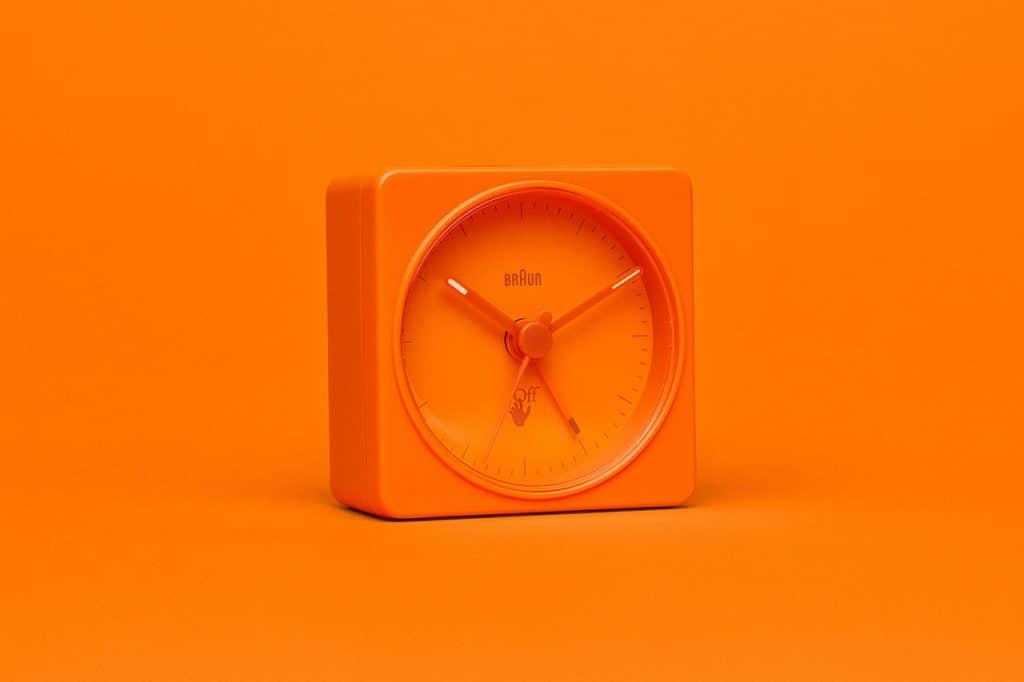 "Off-White™ c/o Braun ""BC02"" clock alarmklok vigril abloh"