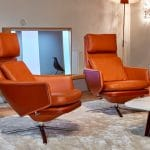 VITRA Grand Relax Lounge Chair by Antonio Citterio