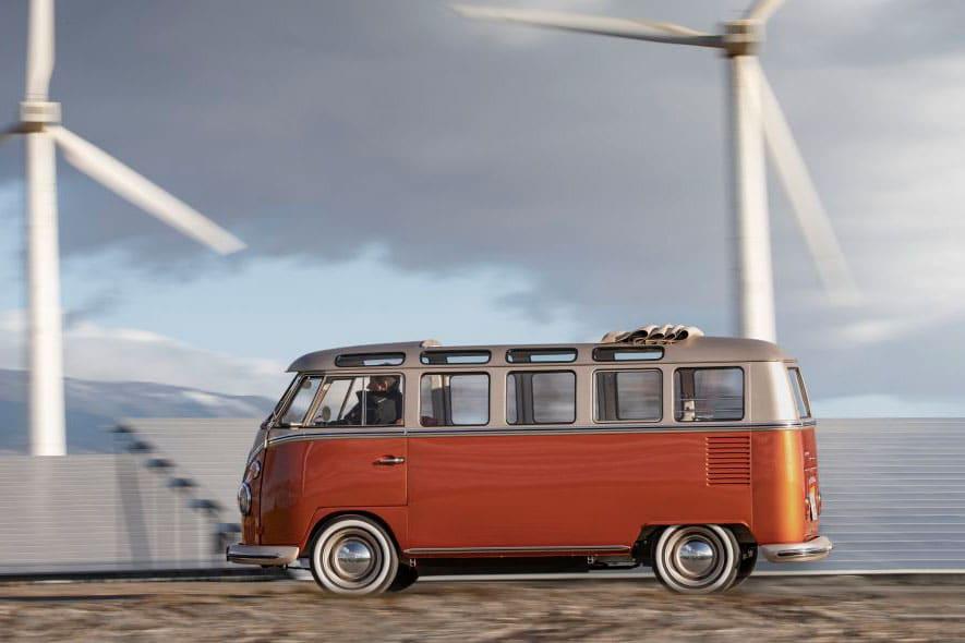 Volkswagen e-BULLI elektrische microbus