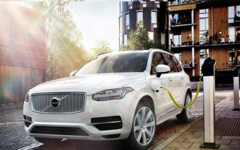 Volvo elektrische auto 2019