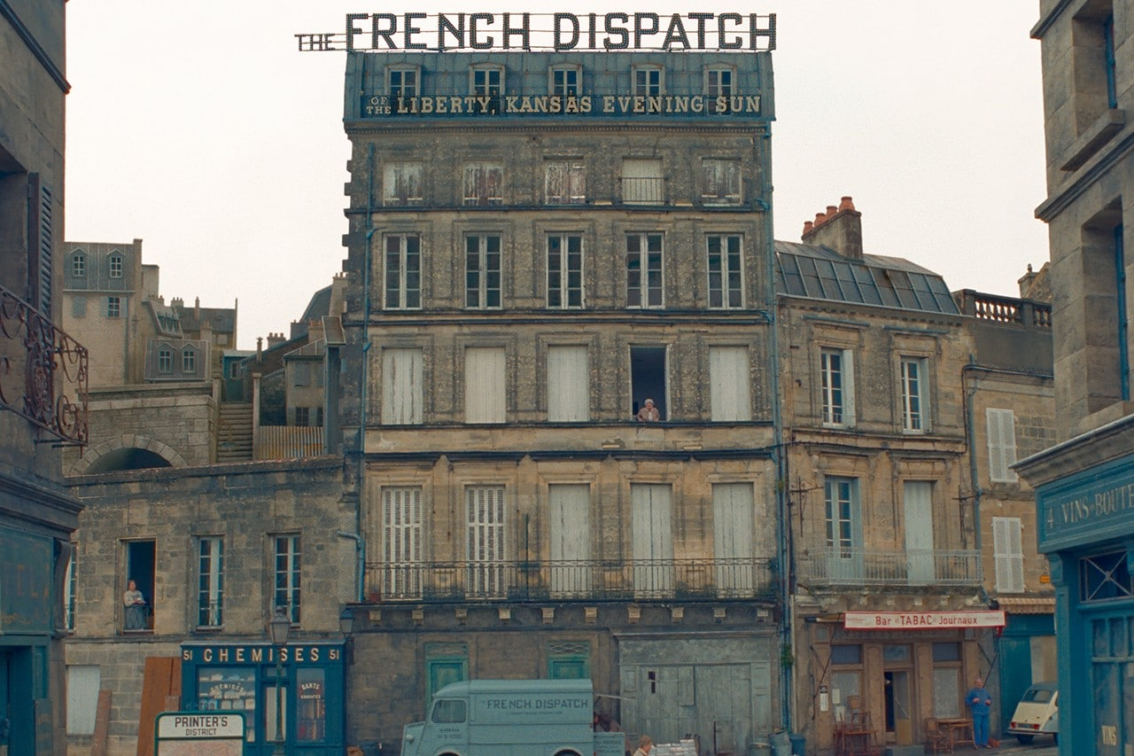 The French Dispatch film wes anderson