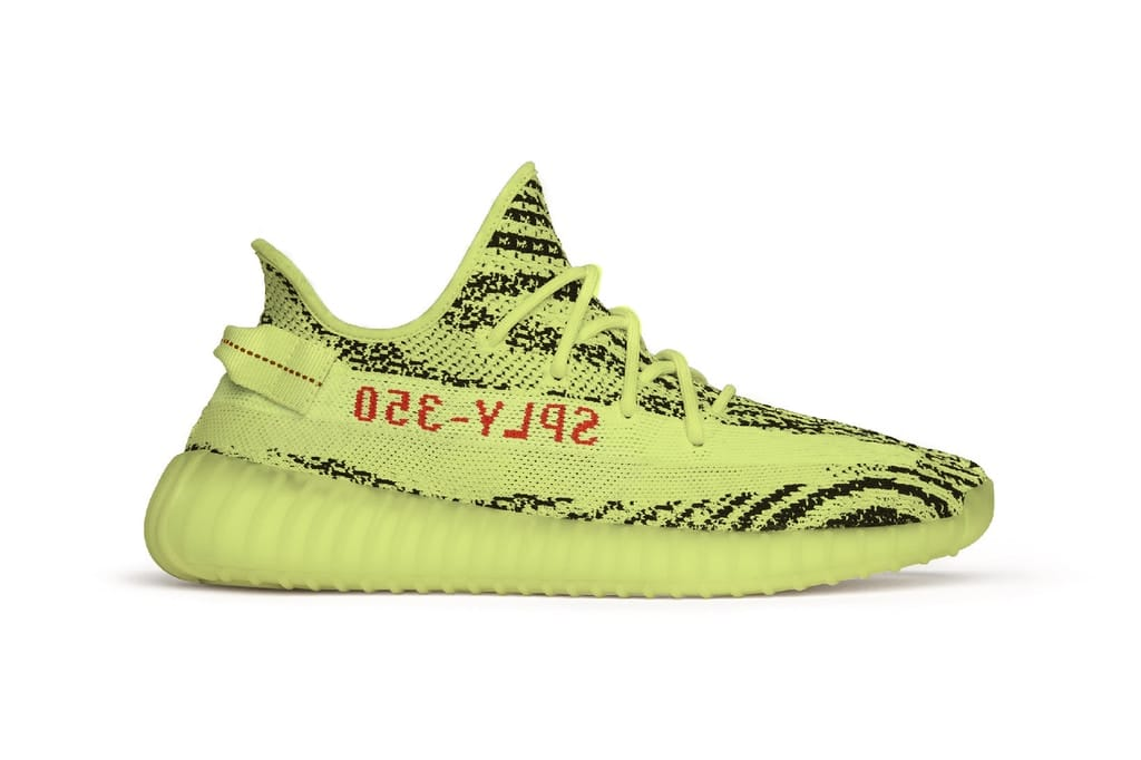 YEEZY BOOST 350 V2 Semi Frozen Yellow restock