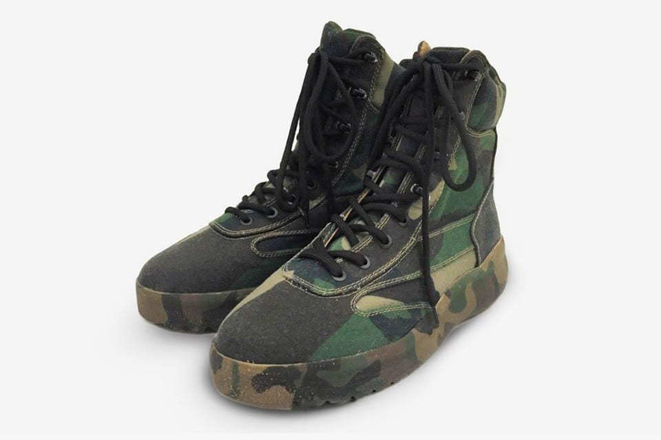 YEEZY Season 5 Military Boot
