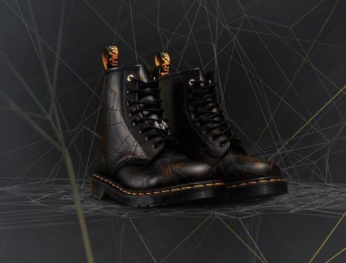 Yohji Yamamoto x Dr. Martens 1460 YY Web boots