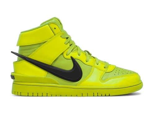 "AMBUSH x Nike Dunk High ""Flash Lime"" release datum"
