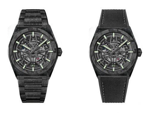 Zenith DEFY Classic Carbon horloge