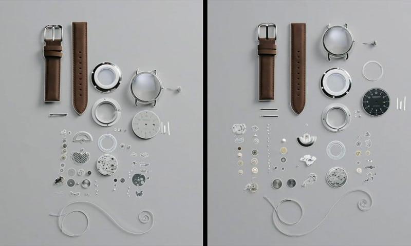 verschil tussen Zwitserse en Japanse horloges